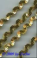 Pailletten-Borte 15mm breit, 1 Meter