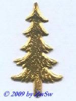 Tannenbaum gold 1 Bogen