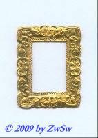 Rahmen gold, 3,8cm x 4,7cm