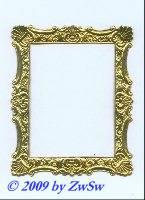 Rahmen gold, 8cm x 10cm
