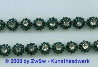 Perlen-Borte, 50 Zentimeter, 10mm breit