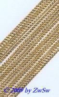 Spitze 3mm, gelbgold, 1 Bogen