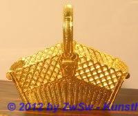 1 Korb (gold)