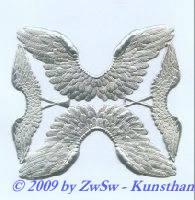 Engelsflügel in 2 Größen, silber