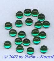 Muggelstein smaragd, Ø 8mm, 1 Stück