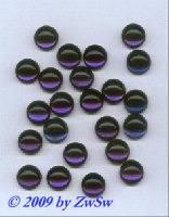 Muggelstein nachtblau, Ø 12mm, 1 Stück