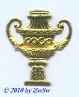 Amphore, 1 Stück, gold