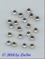 Strassstein 1 Stück, 4mm x 4mm (kristall)