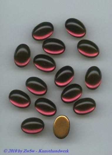Muggel-Stein 1 Stück, 10mm x 8mm  (amethyst)
