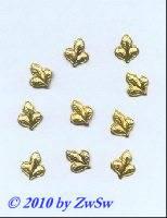 Folien 12mm x 10mm gold