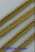 Paspel, gold, 1 Meter