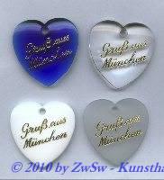 Geschenkanhänger, blau, 1 Stück