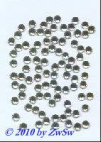 Strassstein 100 Stück 3mm (kristall)