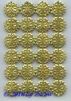 Stern, Strahlenkranz, Blume 24 Stück