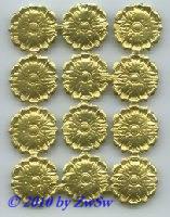 Strahlenkranz, Blume, Minirosette 12 Stück