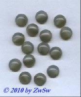 Muggelstein, taubenblau/opalisierend, Ø 10mm, 1 Stück