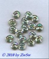 Schmuckstein 1 Stück kristall/AB, 12mm x 10mm