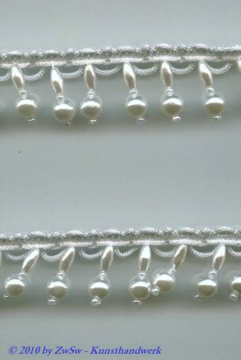 Perlen-Borte, 50 Zentimeter, 20mm breit