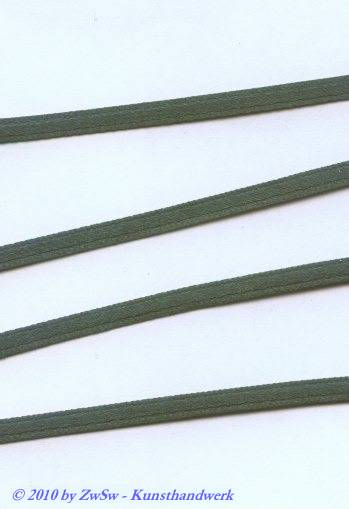 Satinband 3,5mm, grün, 1 Meter