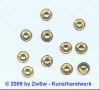 Folien Ø 8,5mm gold