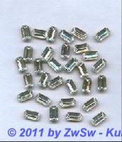 Swarovski-Schmuckstein, Octagon kristall 10mm x 5mm, 1 Stück