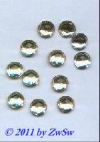 Strassstein kristall, 1 Stück, Ø 11mm