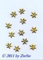 Folien, Ø 10mm,  gold