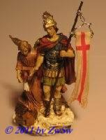 Hl. Florian mit Schutzengel, 1 Stück