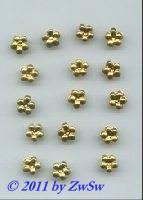 Folien, Ø 8mm,  gold