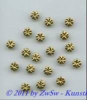 Folien, Ø 7mm,  gold