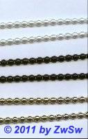 Halbperlen-Borte 6mm weiß 50cm