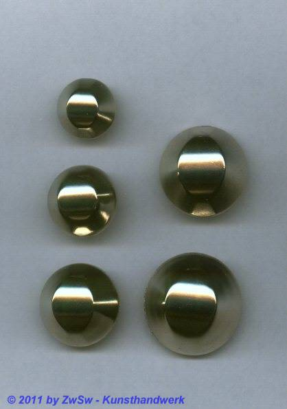 Metallknopf, Ø 15mm