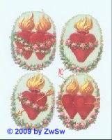 Herz Jesu/Maria Bild