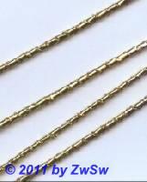 Lahnrolle, 1 Meter, gold