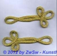 Uniformschlaufe in gold 16cm