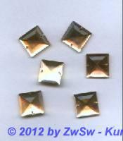 Strassstein, 1 Stück, 17mm x 17mm (zartrosa)