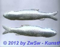 Fisch in gold, 1 Paar