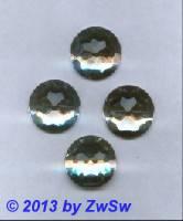 Strassstein, Ø 22mm, (kristall), 1 Stück