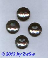 Strassstein, Ø 22mm, (rauchtopas), 1 Stück