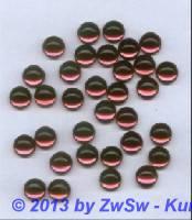 Muggel-Stein, Ø 10mm, 1 Stück dunkelrosa