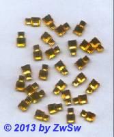 Strassstein, 10mm x 6mm, 1 Stück, topas