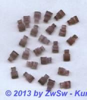 Strassstein, 10mm x 6mm, 1 Stück, amethyst/marmoriert