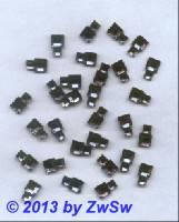 Strassstein, 10mm x 6mm, 1 Stück, stahlblau