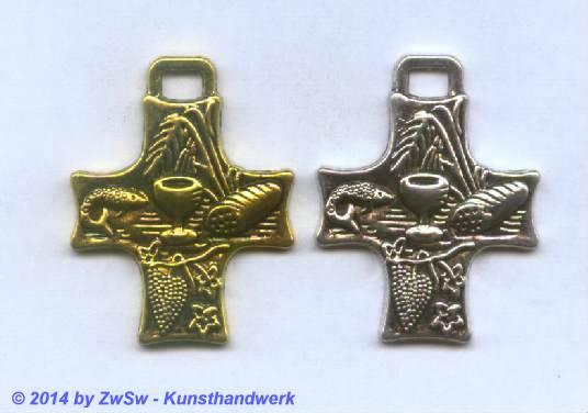 Beschlagteil Brotsegen, gold, 1 Stück
