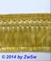 Seidenfranse gold, 1 Meter