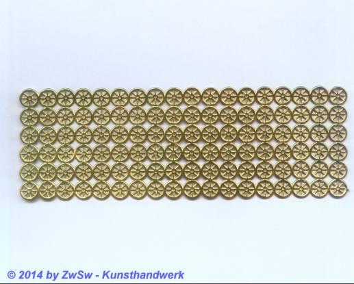 Räder, gold, 10mm