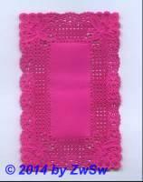 Spitzendeckchen antik, rosa, 1 Stück