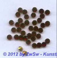 Schmuckstein, SS 26 / 5.60-5.80mm rot, 1 Stück
