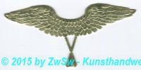 Engelsflügel, gold,  9cm x 2,3cm