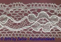 Klöppelborte silber, 21 mm, 1 Meter